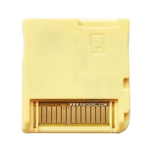2018 Version New R4I SDHC Dual Core Gold Pro Flash Card Adapter for